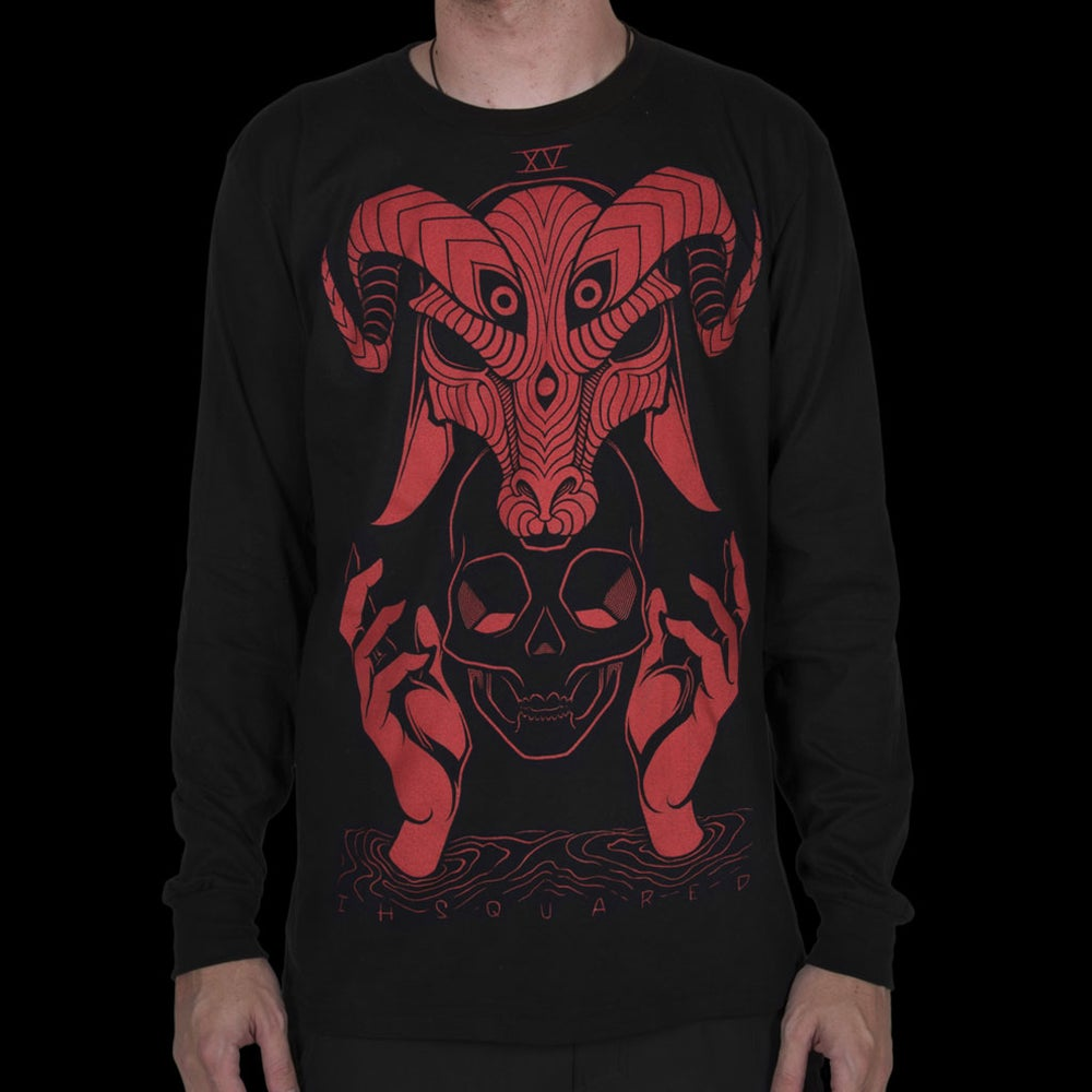 Image of THE DEVIL LONG SLEEVE TEE