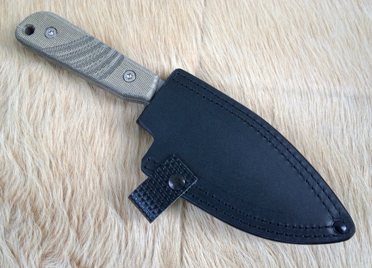 Mytuko Cobalt Matte Blade with Sheath