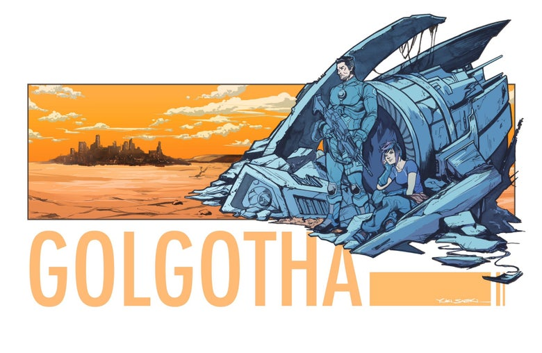 Image of Golgotha (TopCow) Print