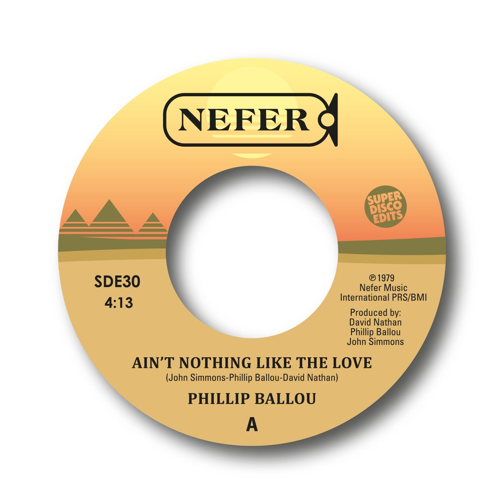 "Image of philip ballou ""aint nothing like your love""/""are you for real"" nefer"