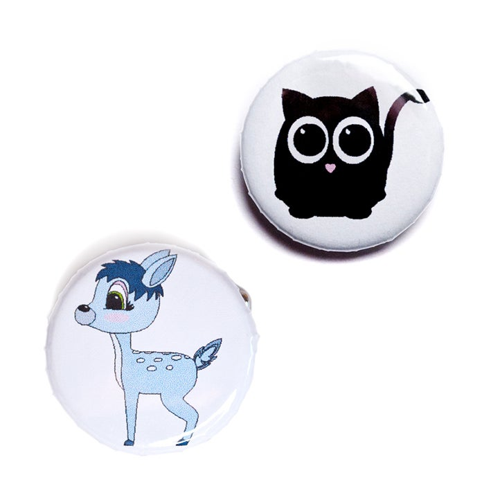 Image of Animal Buttons
