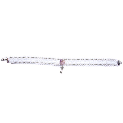 Image of White magic choker