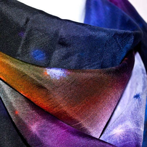 Image of Galaxy silk scarf