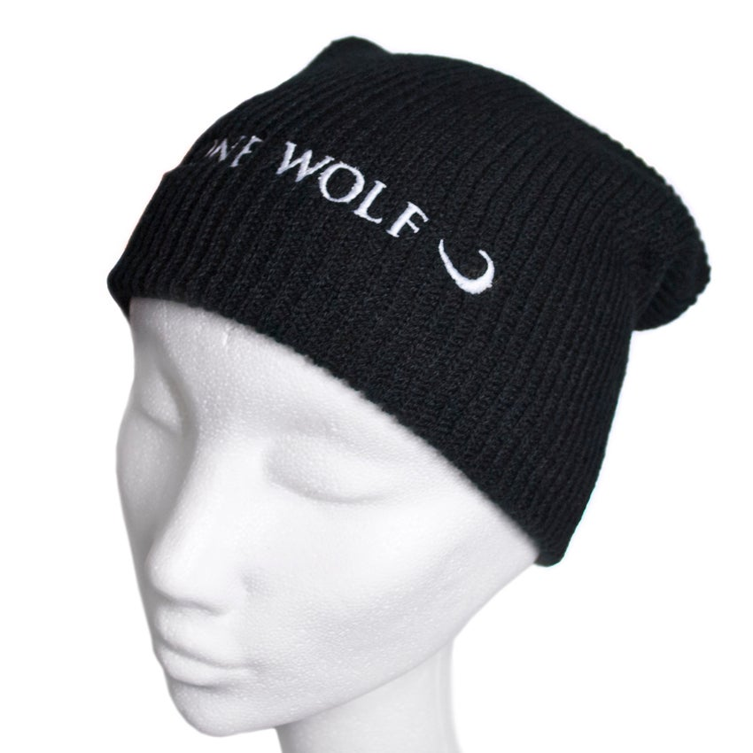 Image of Lone Wolf slouchy beanie