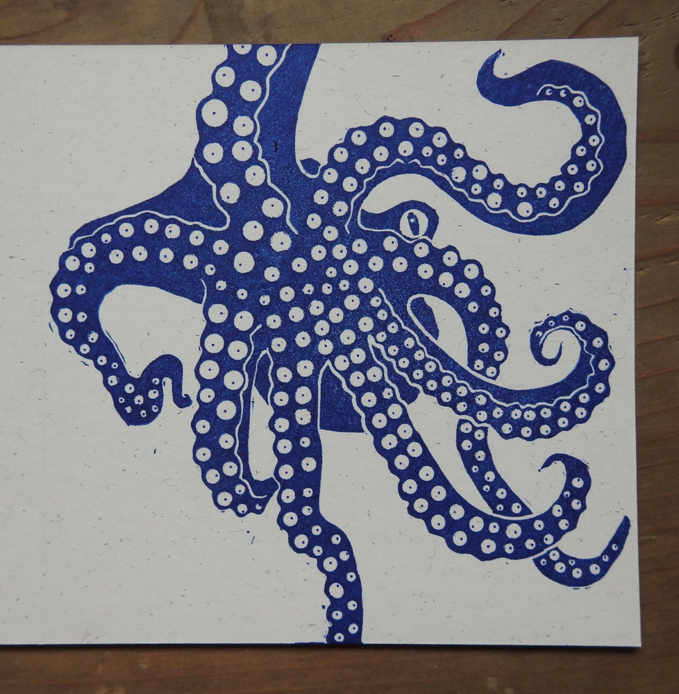 Image of Octopus - single card