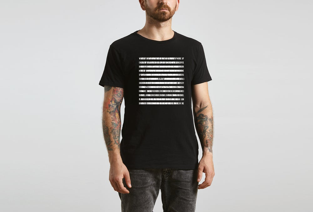 Image of Ulan Under Radar Lyric T shirt