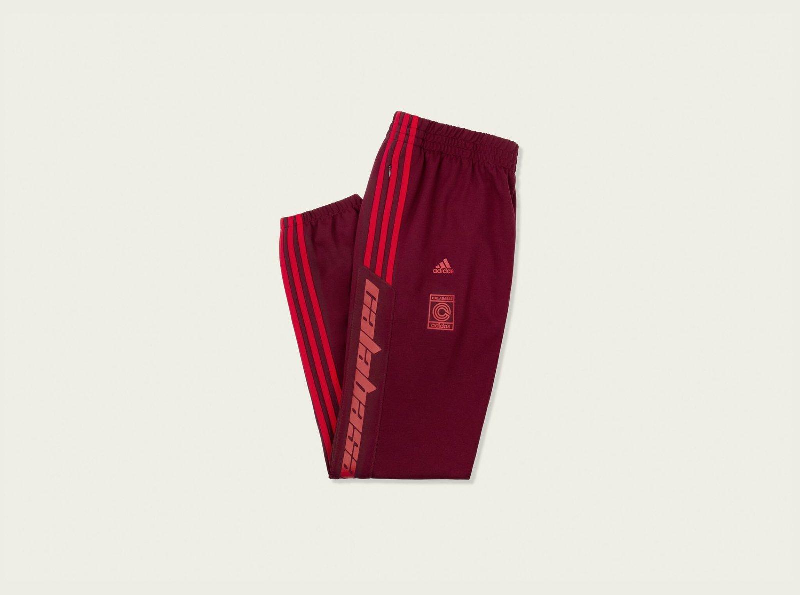 b7ce9bd4bfd3 Karan s Kicks — Adidas Yeezy Calabasas Track Pants Maroon