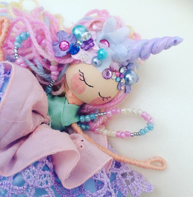 Image of Decorative Whisper Unicorn Fairy