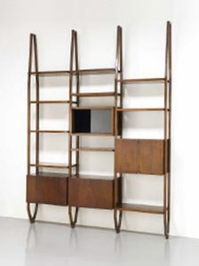 Image of Italian Shelving Unit, 1960s
