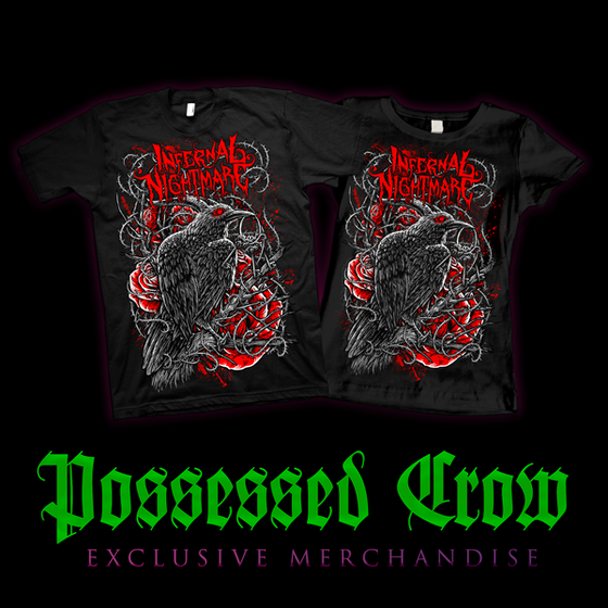 Image of POSSESSED CROW T-SHIRT