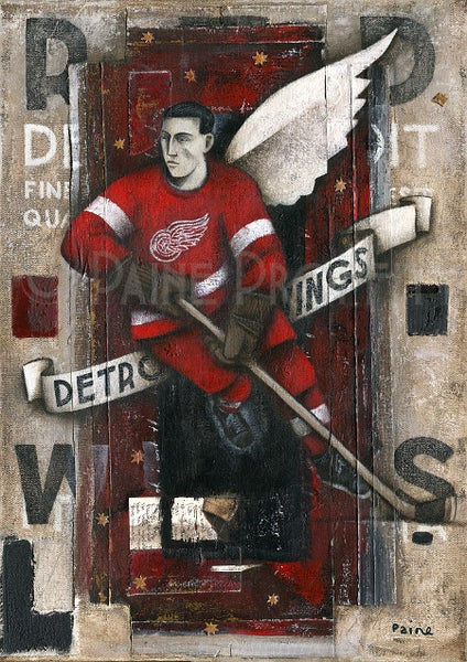 Image of Detroit Redwings (Winged)