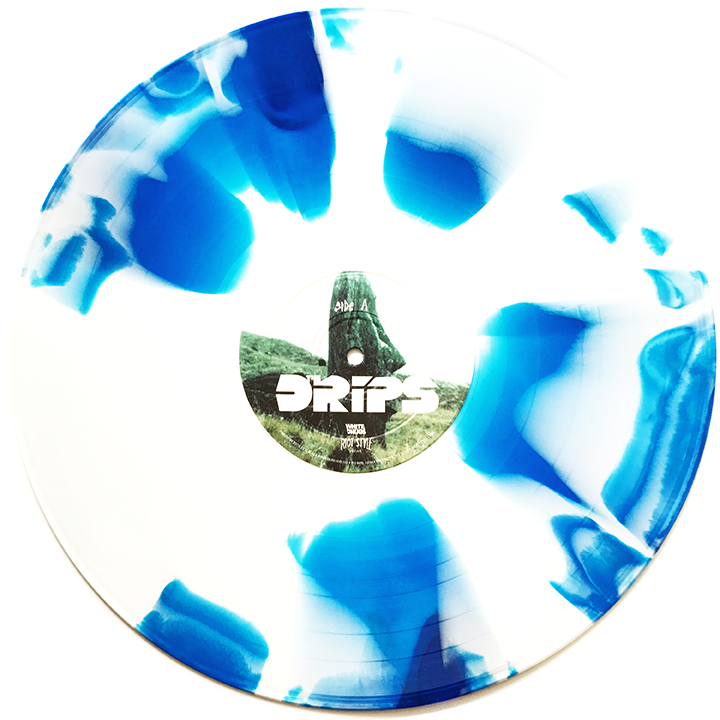 "Image of The Drips - The Drips 12"" Vinyl (Deluxe Edition) Scratch n' Sniff Cover!"