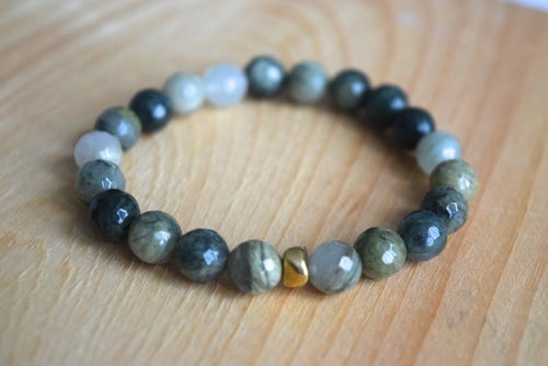 Image of The Green Jasper bracelet