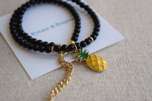 Image of The Golden Pineapple choker