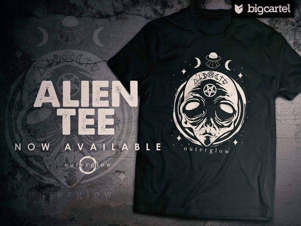 "Image of Outer Glow ""Evil Alien"" T-shirt"
