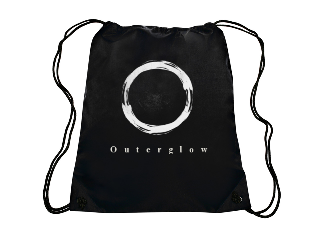 Image of Outer Glow drawstring bag