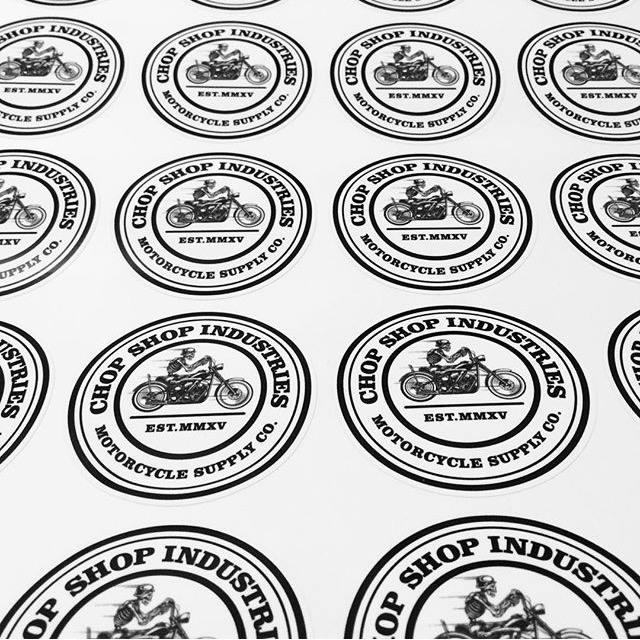 Image of Chop Shop Industries Patch Decal