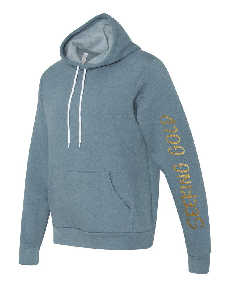 Image of Seeking Gold Pullover Hoodie