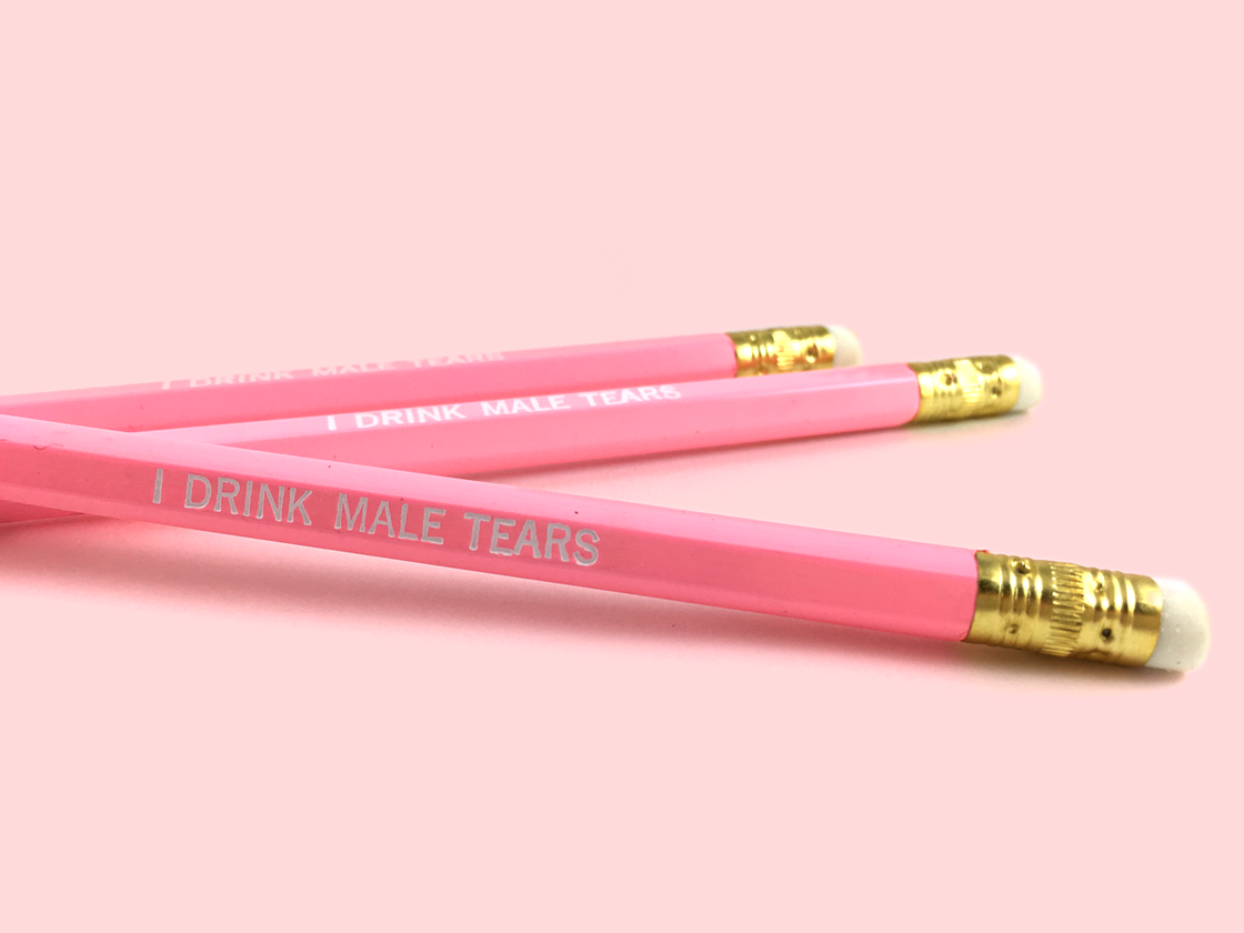 Image of I Drink Male Tears pencil pack
