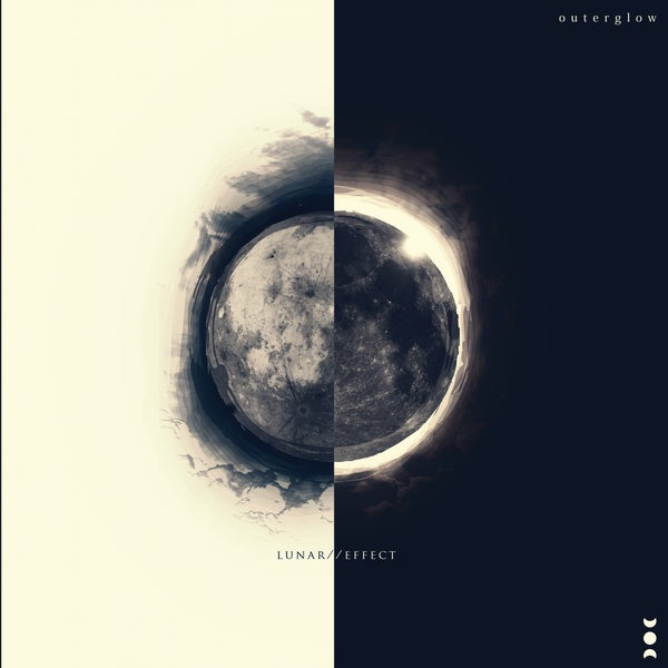 """Image of Outer Glow """"Lunar // Effect"""" Ep physical CD"""