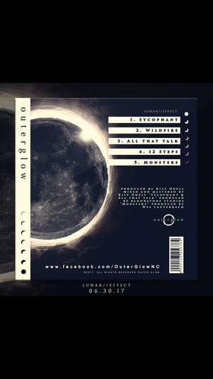 "Image of Outer Glow ""Lunar // Effect"" Ep physical CD"