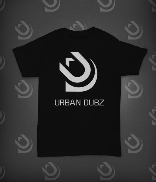 Image of Urban Dubz Logo & Name T-Shirt - Black