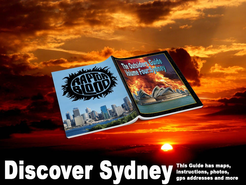 Image of The Outsiders Guide Vol.4: Sydney