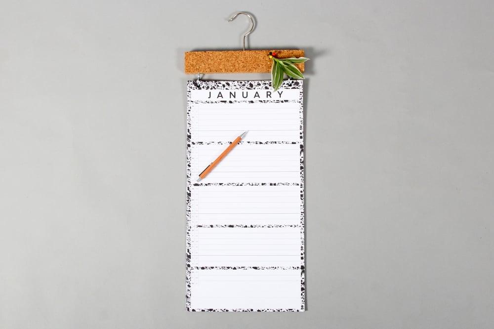 Image of 2018 XL Pinboard Calendar Refills