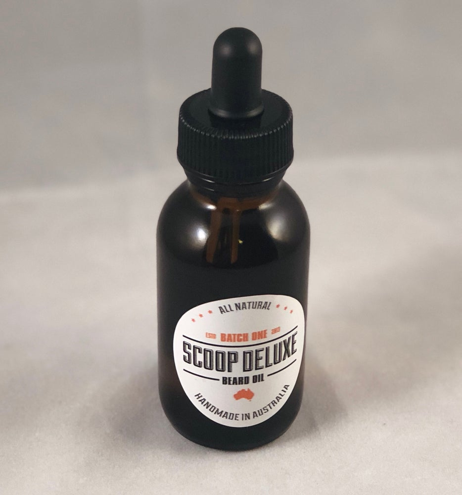 Image of Scoop Deluxe 'Batch One' beard oil 50ml/1.7oz