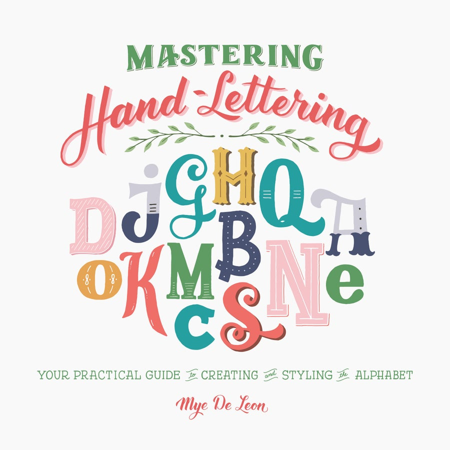 Image of MASTERING HAND-LETTERING