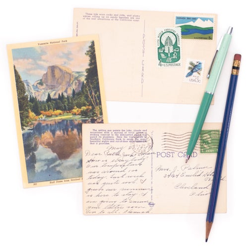 Image of Vintage Postcards - Set of 10