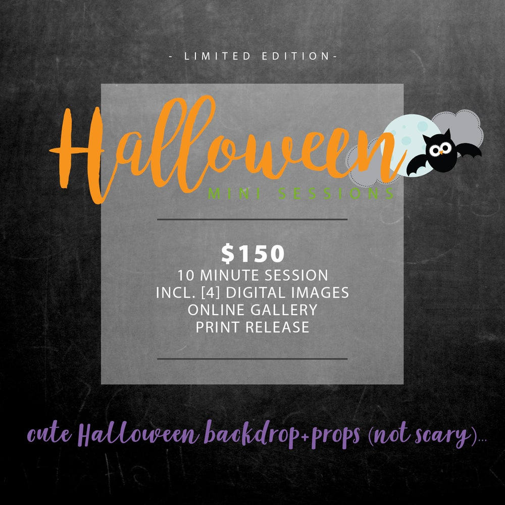 "Image of Limited Edition ""HALLOWEEN"" Mini Sessions at La Quinta Resort"