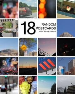Image of 18 Random Postcards