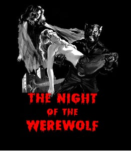 Image of The Night of the Werewolf T-SHIRT