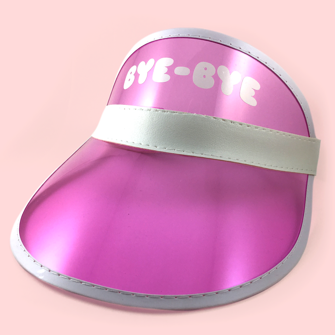 Image of PERSONAL SPACE II: pink visor