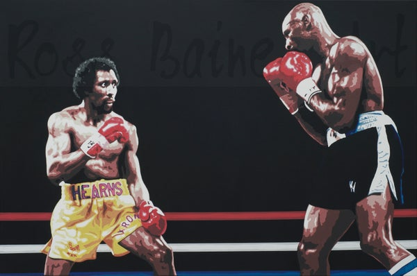 Image of 'FIGHT OF THE CENTURY' - A3 art print