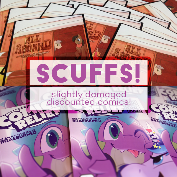 Image of SCUFFS: Discounted Comics!