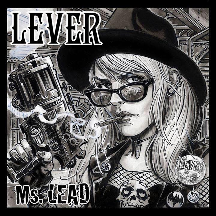 "Image of Lever - ""Ms. Lead"" EP Compact Disc"
