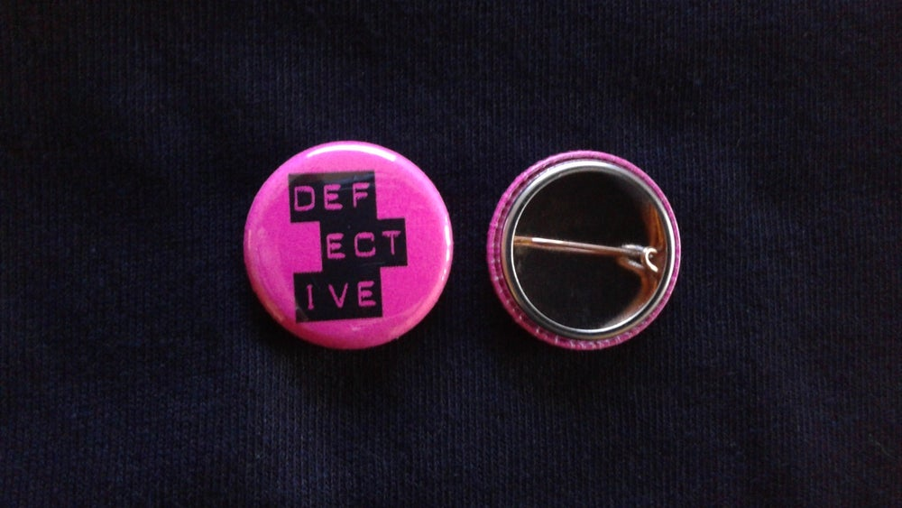 Image of Defective Buttons