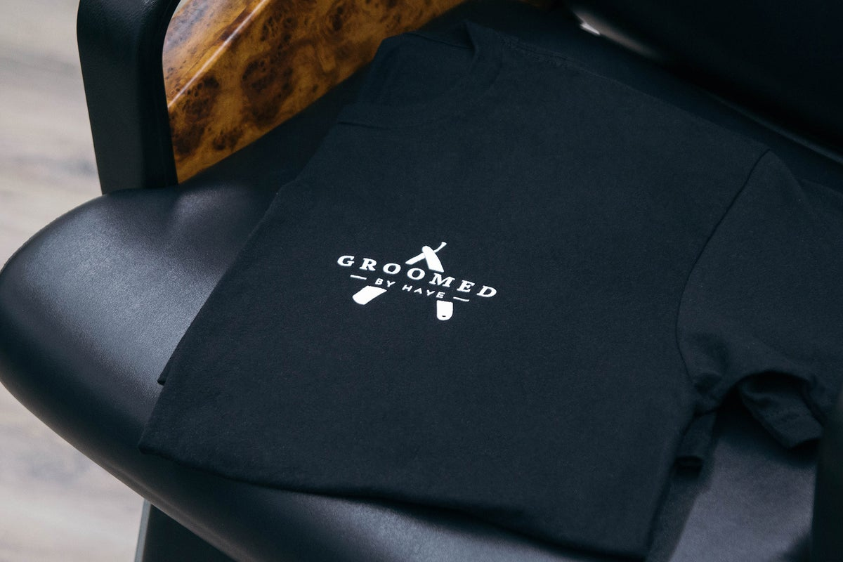 "Image of Signature ""Groomed"" Tee"