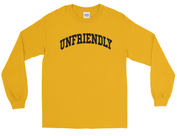 Image of Unfriendly LongSleeve (Yellow)