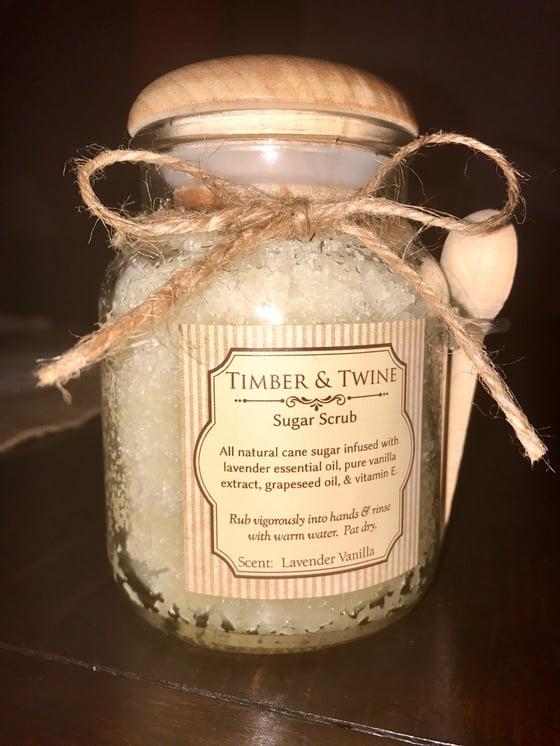 Image of Lavender Vanilla Sugar Scrub