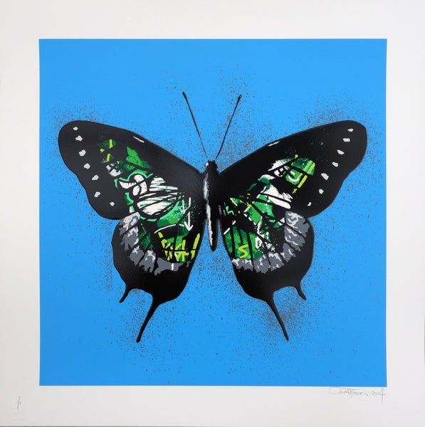 "Image of Martin Whatson ""Butterfly"" Special Edition Green"