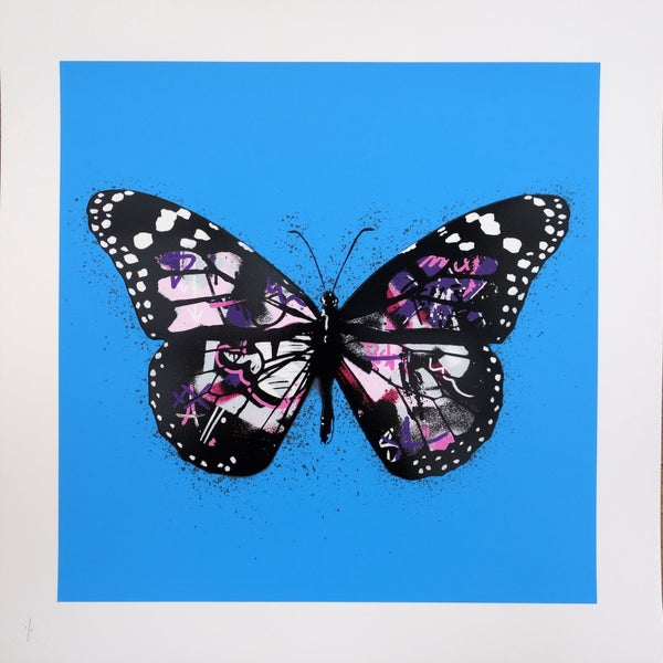 "Image of Martin Whatson ""Butterfly"" Special Edition Purple"