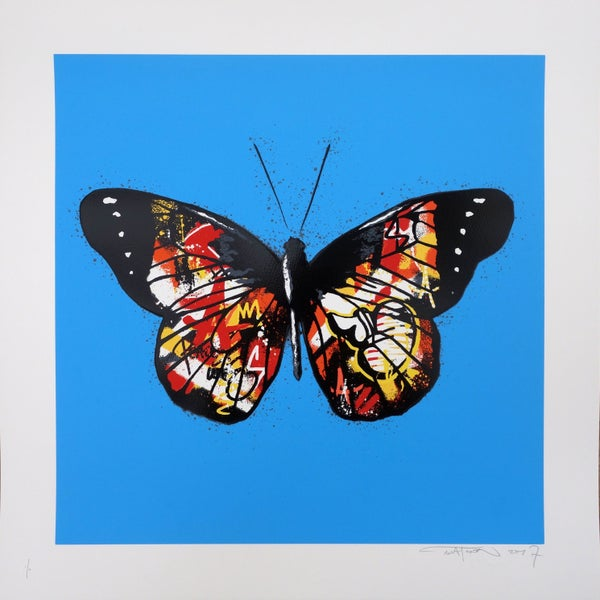 "Image of Martin Whatson ""Butterfly"" Special Edition Red"
