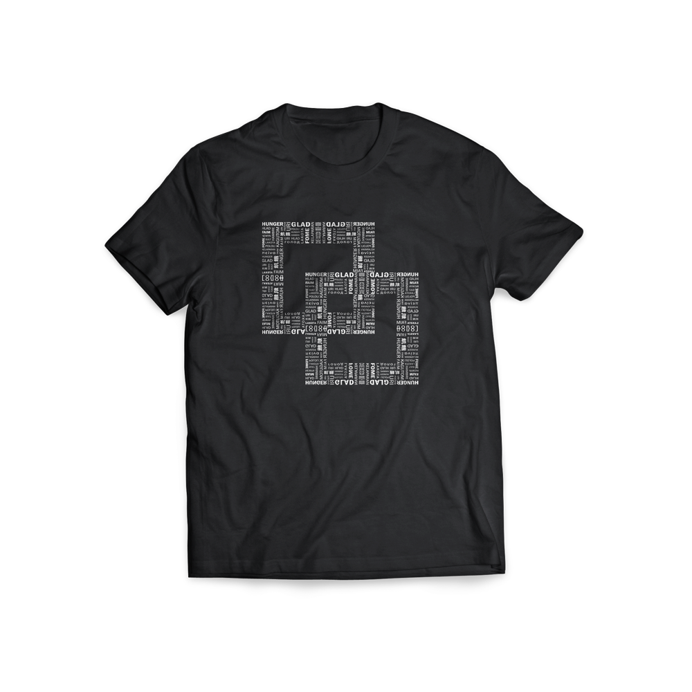 Image of T-SHIRT 'FAME' 2.0 (BLACK)