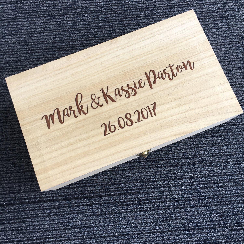 Image of Keepsake Box Hinged Lid & Latch