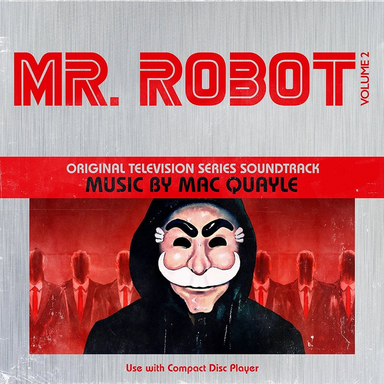 Image of Mr Robot Season 1 Volume 2 (Original Television Series Soundtrack) CD - Mac Quayle