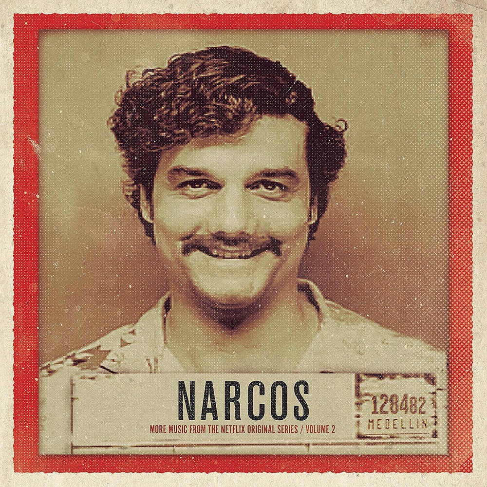 Image of Narcos Vol. 2 More Music From The Netflix Original Series CD - Various Artists