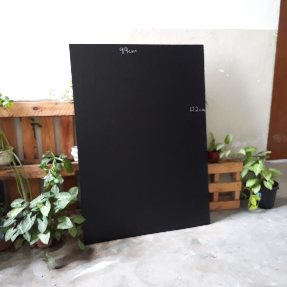 Image of 122cm X 100cm Frameless Chalkboard